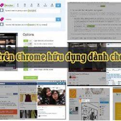 11 add-on trên Chrome hữu dụng dành riêng cho Marketers