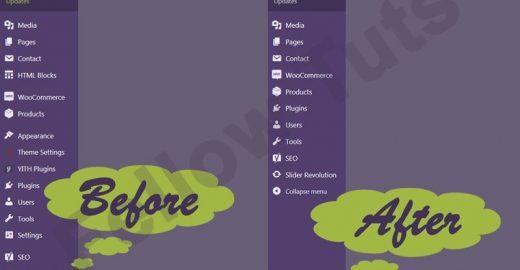 Remove Hide Menu Items Admin Dashboard 520x270