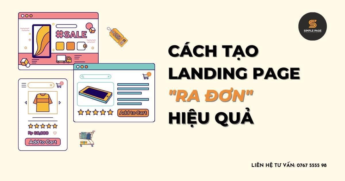 Cach Tao Landing Page Ra Don Hieu Qua
